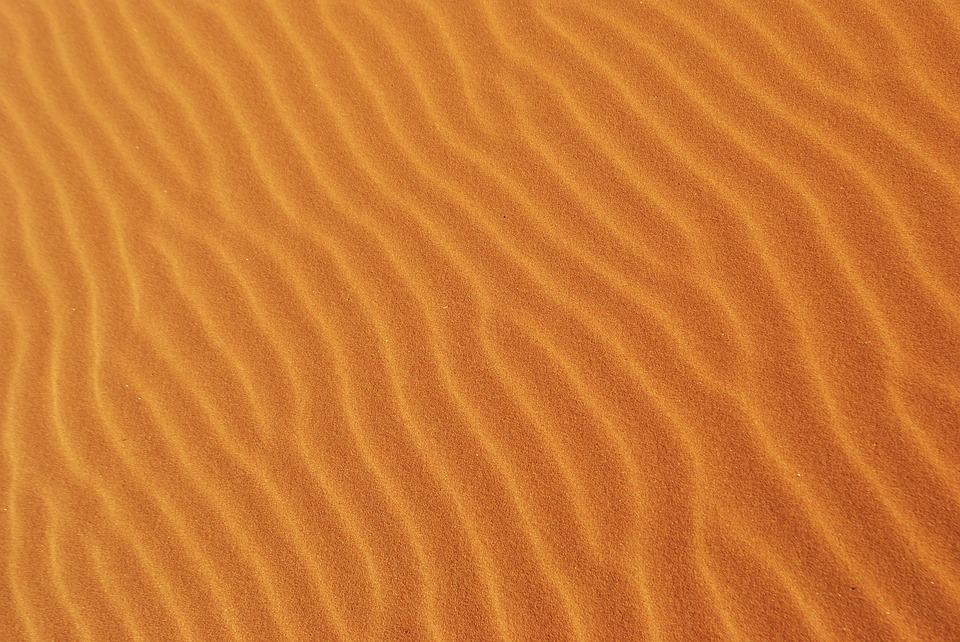 žlutý písek