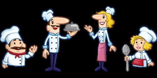 šéfkuchař a kuchaři