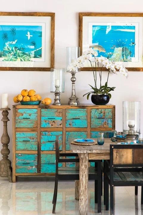 Dokonalý vintage styl? Starožitný nábytek promění váš byt k nepoznání