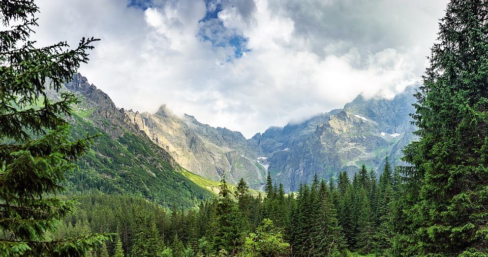 tatranské panorama